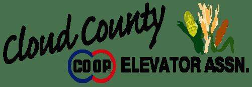 Cloud County Logo Black