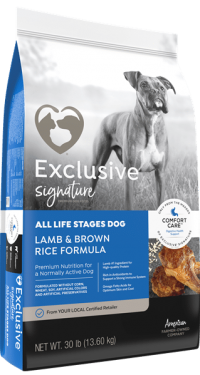 Exclusive Signature All Life Stages dog