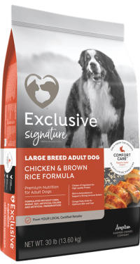 Exclusive Signature Large Breed Adult Dog