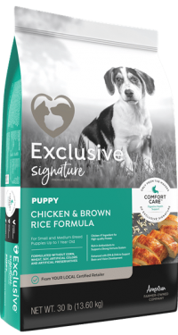 Exclusive Signature Puppy Chicken Brown Rice
