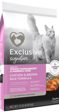 Exclusive Signature Cat Weight Management & Hairball Care
