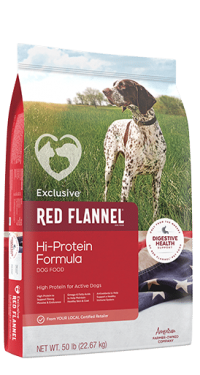 Exclusive Red Flannel Hi Protein