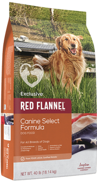 Exclusive Red Flannel Canine Select
