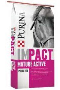 Purina Impact Mature Active Pelleted